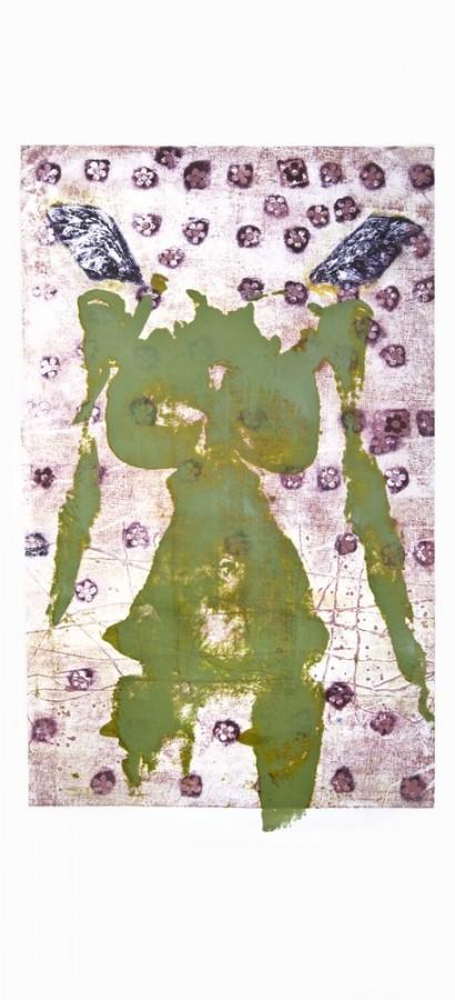 fecioara_tehnica mixta_100x70cm, 2003