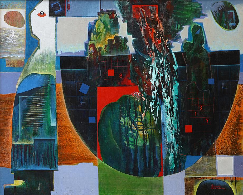 Sinteza-formei--100x80--Ulei pe pinza--an-2007