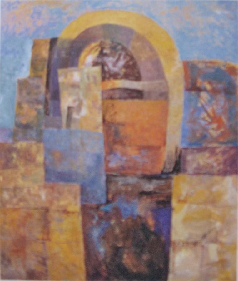 ''Absida''(acril pe panza93x87cm)