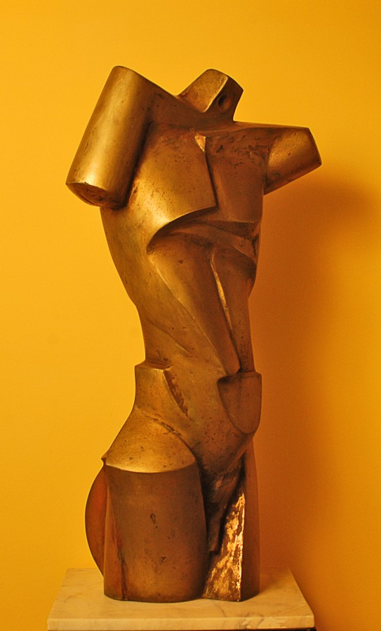 Adam-88x46x30cm-bronz, 2008
