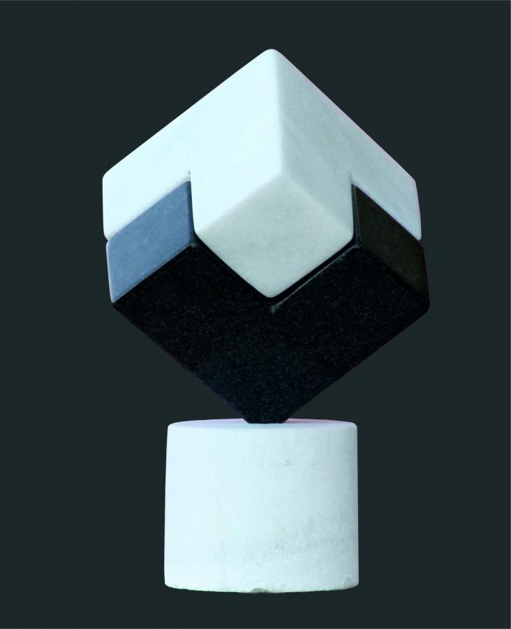 Ana Maria Negara- CLAR OBSCUR, 2008- marmura_granit_20x20x30 cm_2010