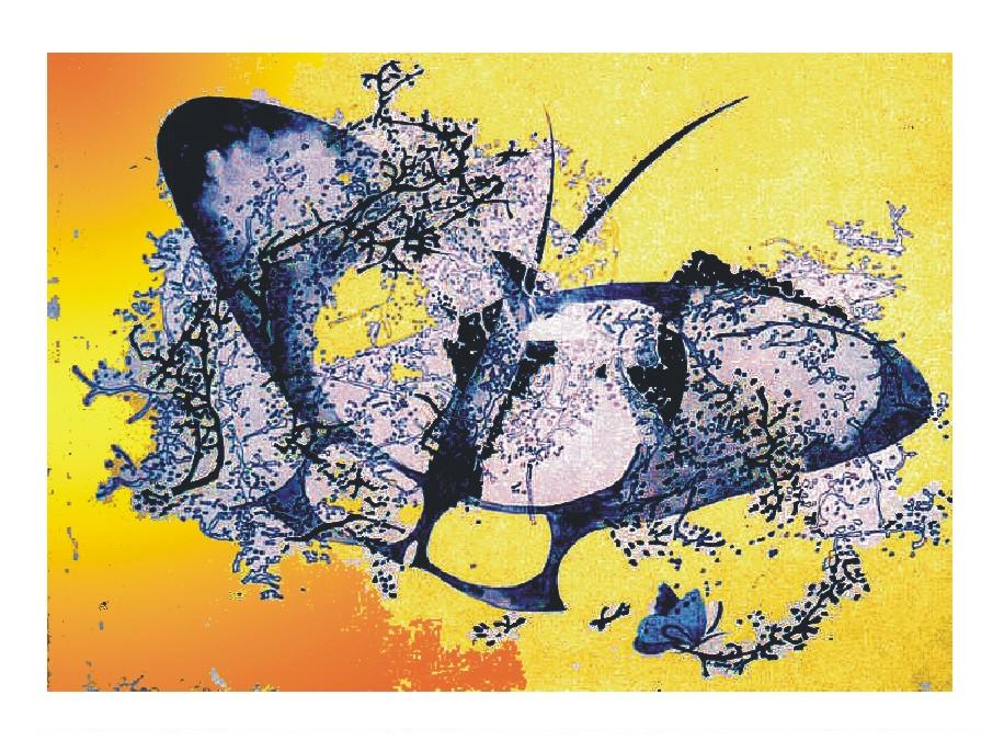 Aripi - tus, 15x21, anul 1996