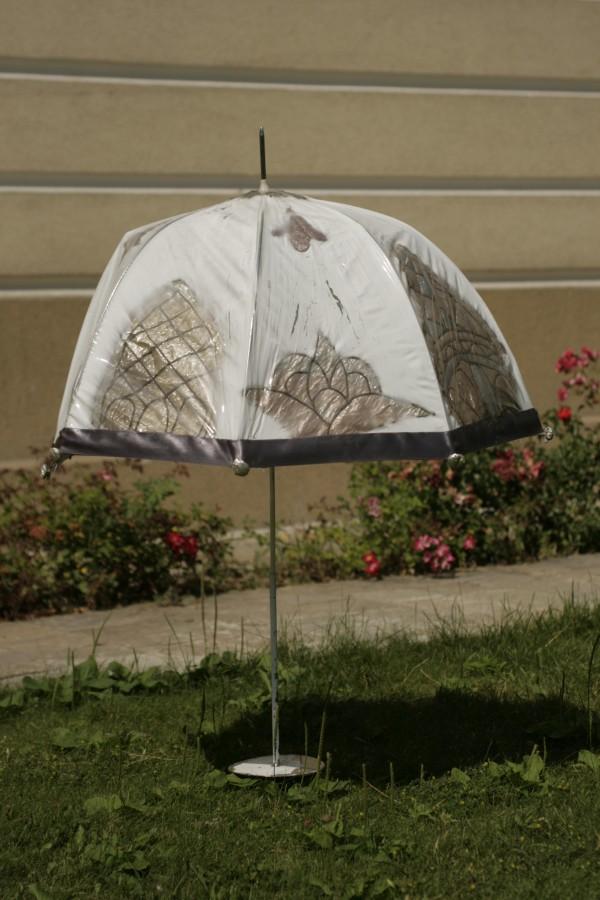 CLOPOT, 160 cm, diametru 60 cm., instalatie, 2011