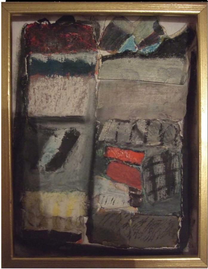 D. Compozitie 4. T. mixta pe hartie. 20x15 cm. 2008