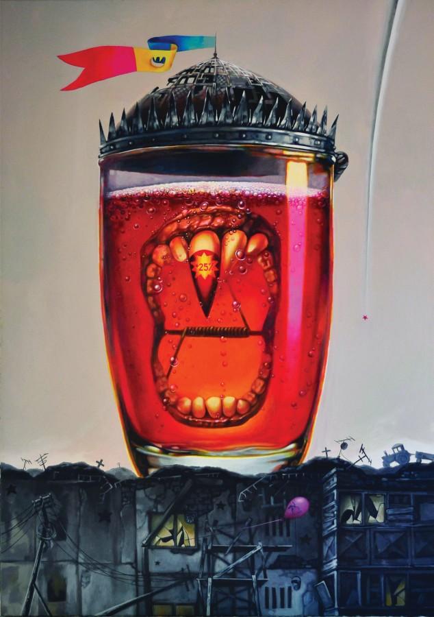 Dracolax-acrylic-pe-panza,-80x100-cm