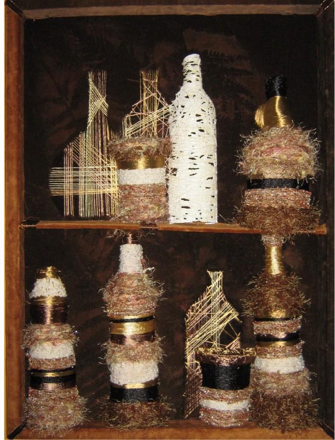 Ecaterina Marghidan bar1 50 - 70 cm colaj textil 2010