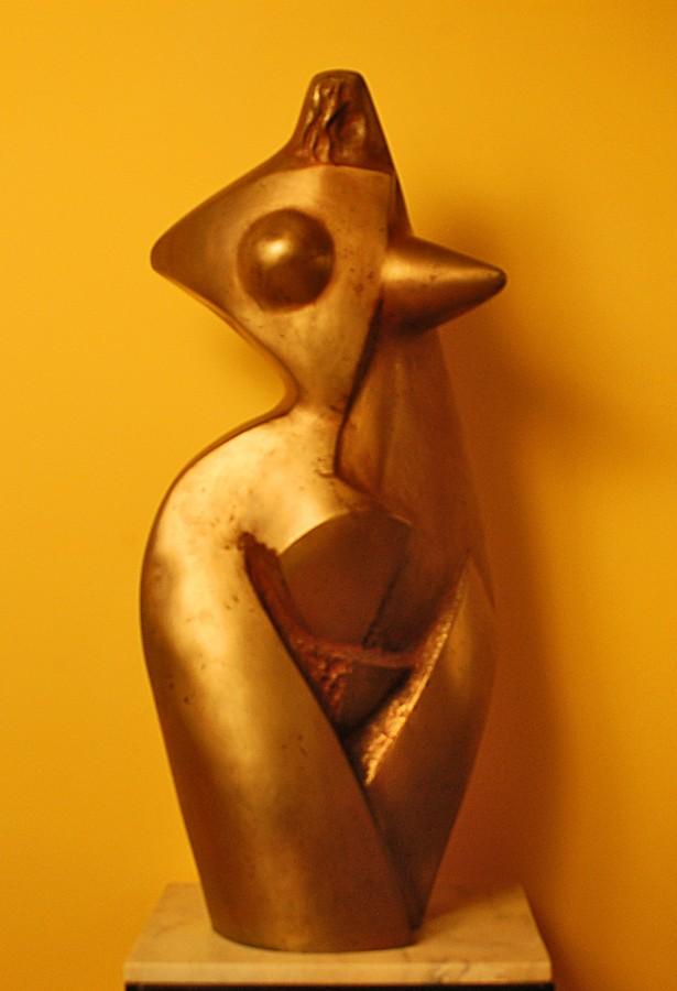 Eva-88x42x41cm-bronz, 2008