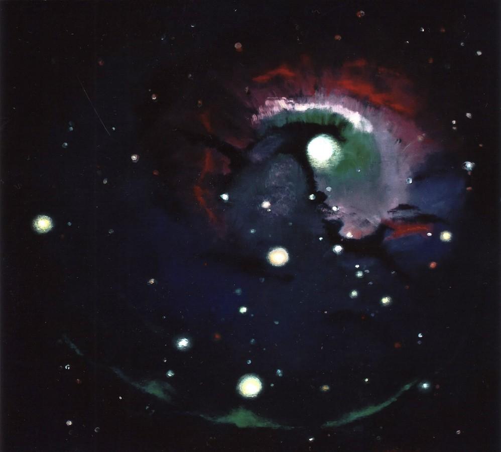 Fenomen Galactic - ulei pe panza, 90x100 cm, 2009