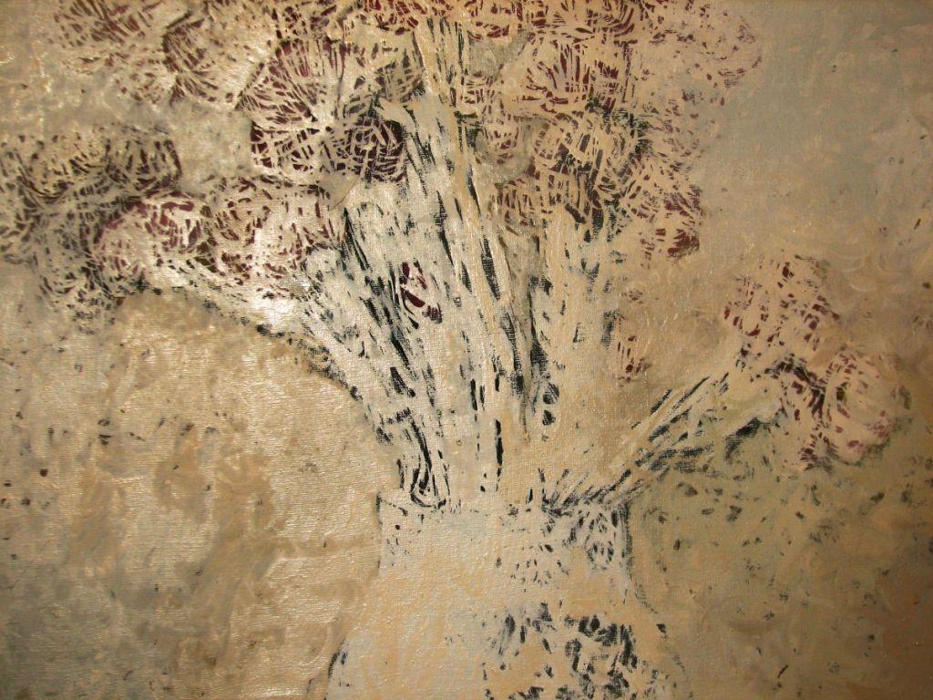 Flori - Ulei pe panza, 43x49cm , 2013