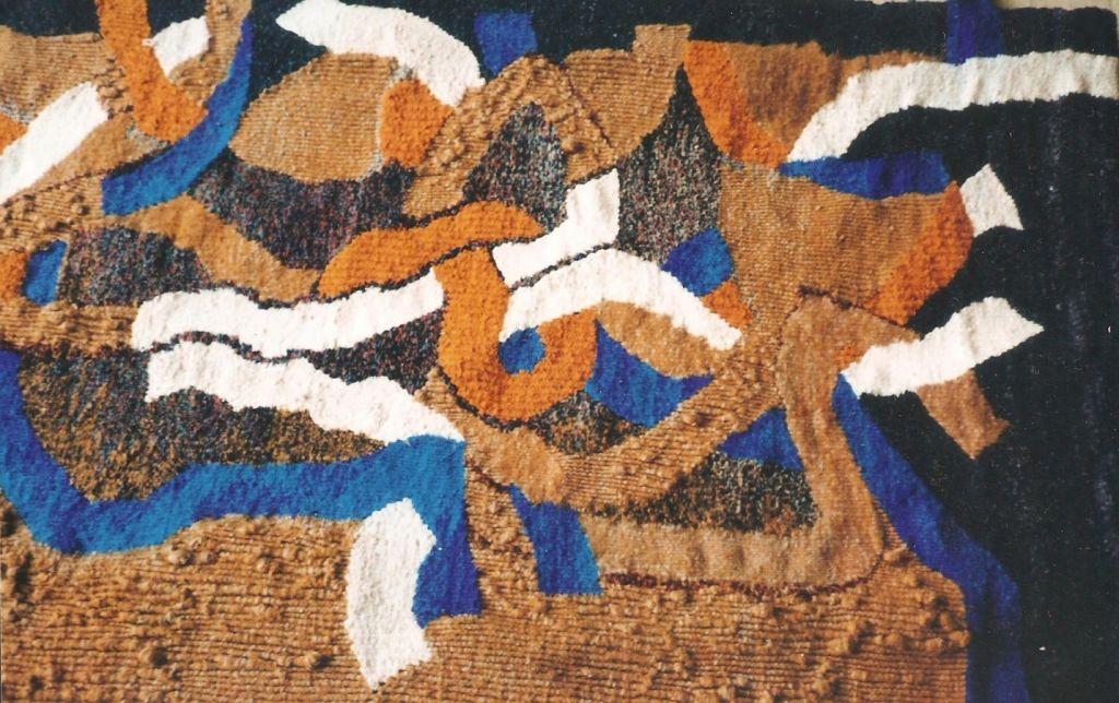 Focul Sacru Dimensiune 230 X 180 cm, Tehnica Hault Lisse, 1996