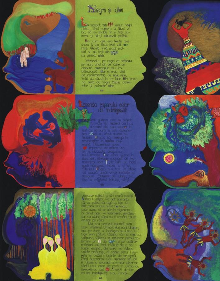Ilustratii-Povesti si legende din America Latina