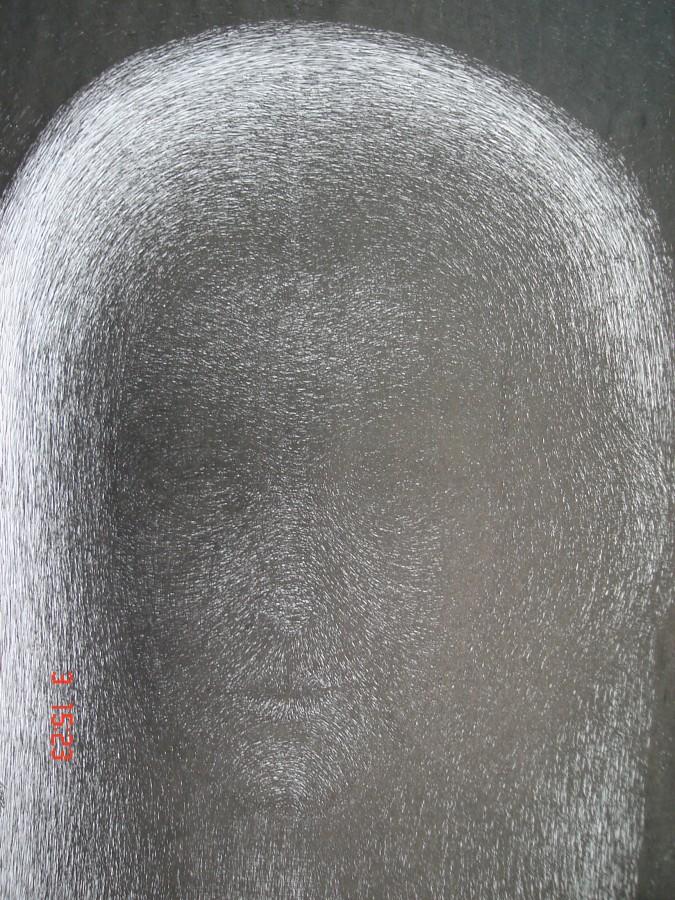 Introspectie - tus-penita pe hartie50x60 cm , 2013