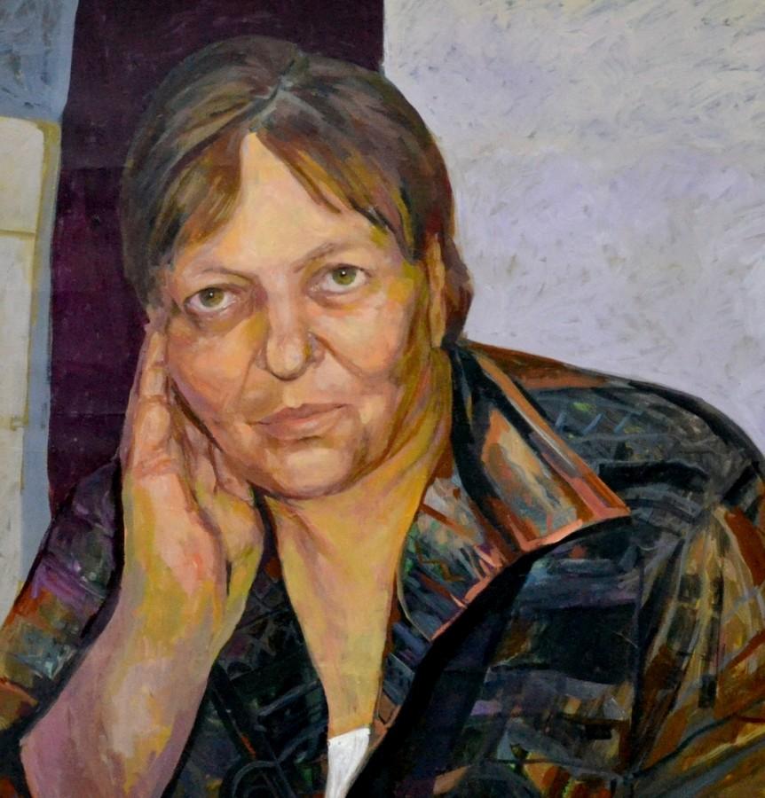 Mama,150x150,ulei pe panza, 2012
