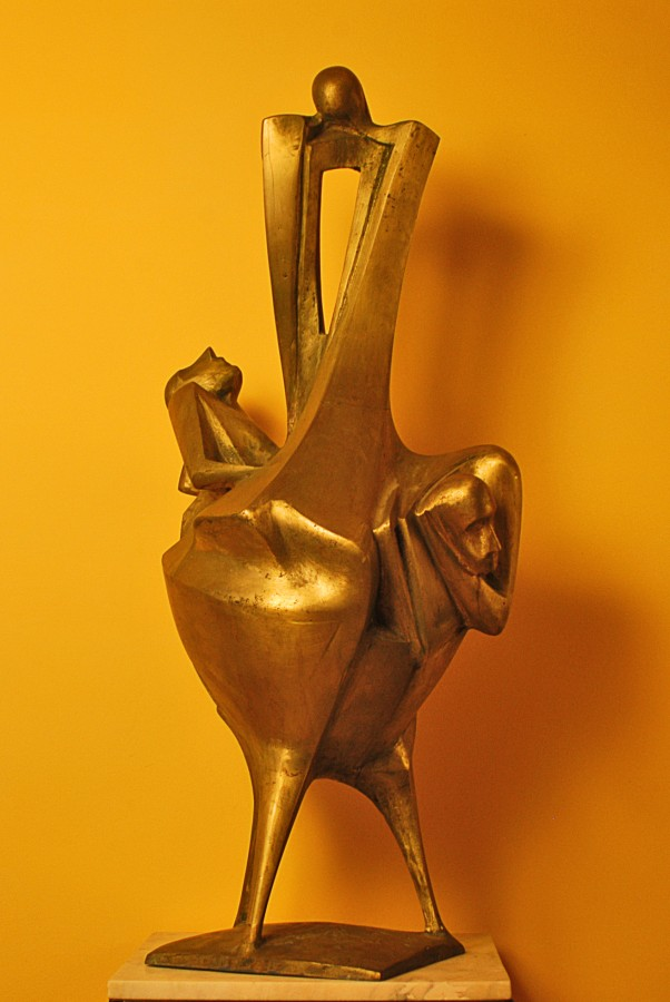 Metamorfoza-102x48x40cm-bronz, 2008
