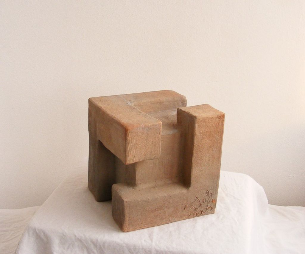 ,,Metamorfoza'' Ceramica, ardere 1150 C, 25x25, 2009