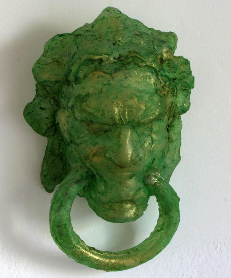 Mihai Verestiuc, The big great sculpture-detaliu, 2008, silicon, 30x15x8