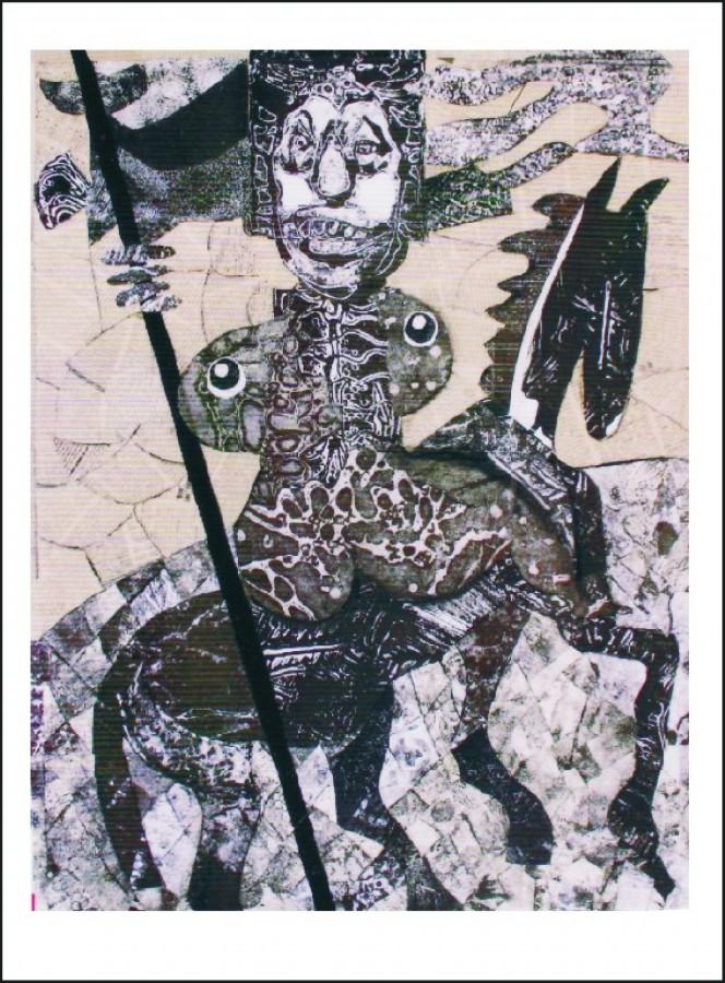 Nerusinarea - colaj, 83x67, anul 2001