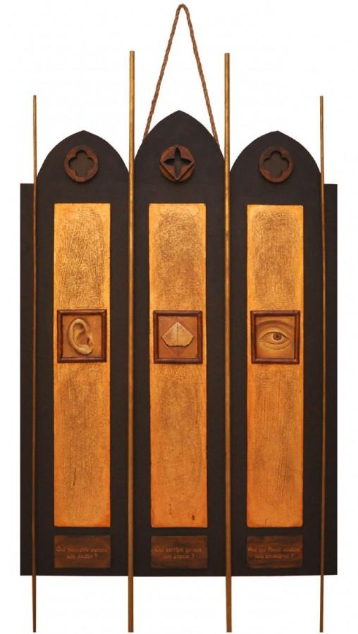 Psalmul 93, 2012, obiect instalatie, 70x90cm