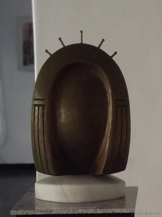 Regina noptii - 2012,lemn, 45x27x23cm