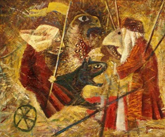 ''Sabat''( ulei panza 70x83cm)
