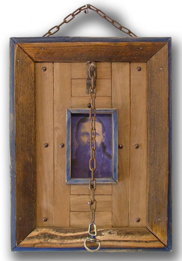 Sacru si Profan, 2011, obiect instalatie, 25x40cm