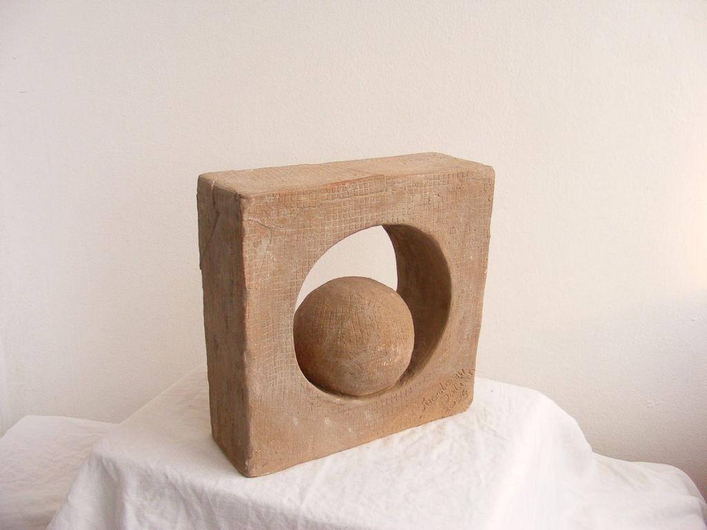 ,,Sfera'' Ceramica, ardere 1150 C, 26x26x10 2009