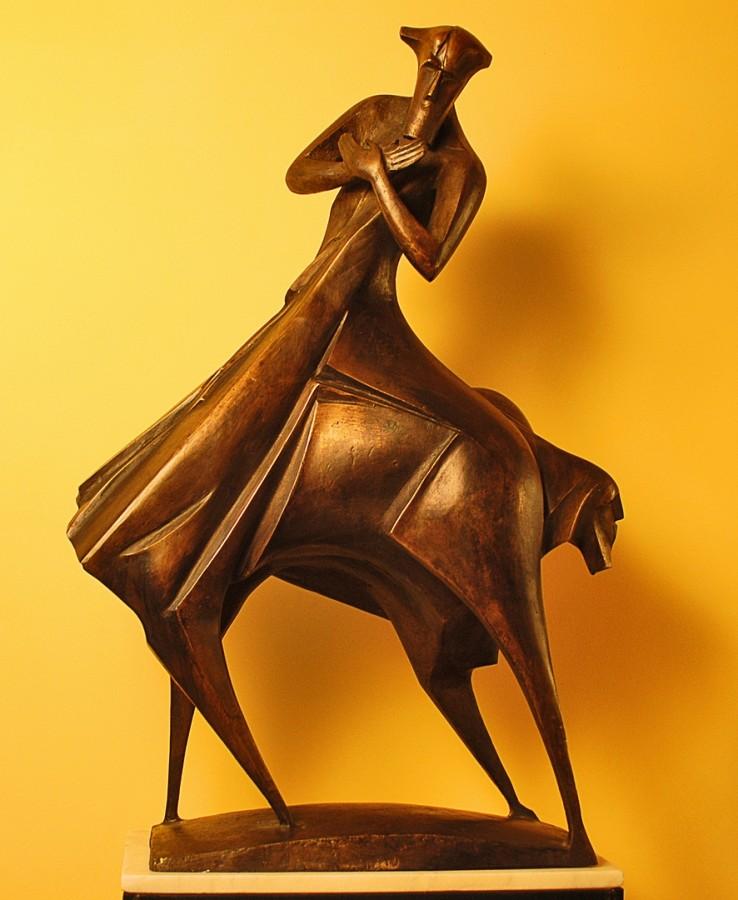 Shaman-97x68x30-bronz, 2008
