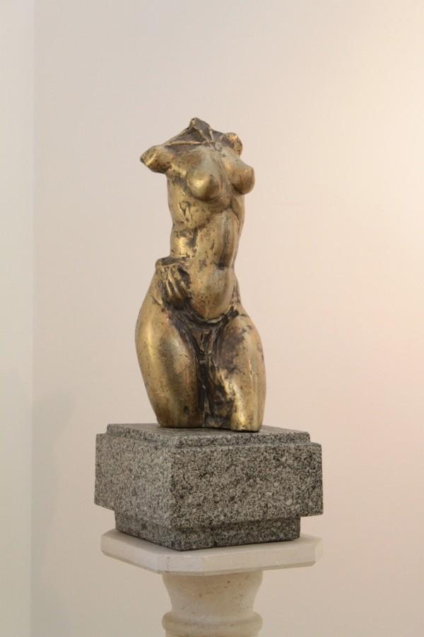 Venera - 60x18x15 cm, bronz ceara pierduta, 2012 .