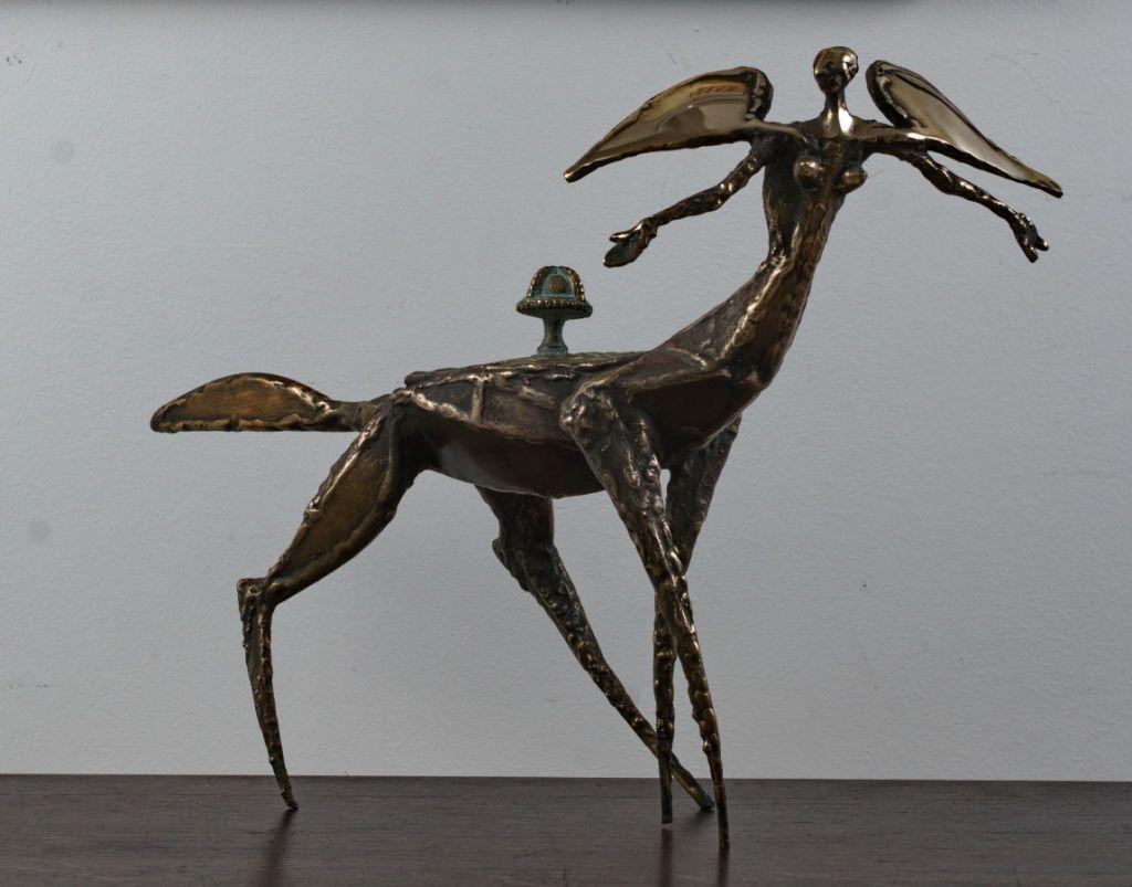 povara bronz 54x36x18 cm