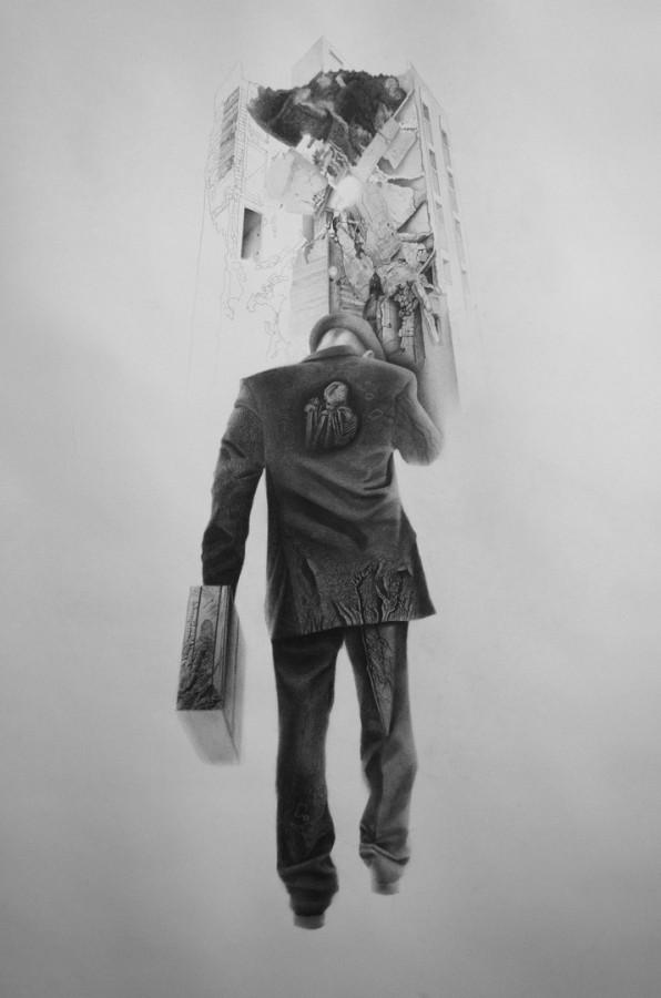 Fiul secret al Europei - desen, 140-100 cm, 2013