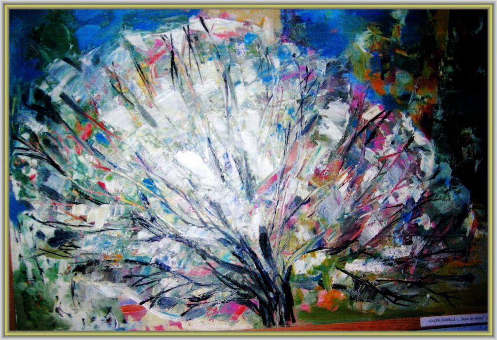 Semn de trezire - ulei carton, 40x60 cm, 2011