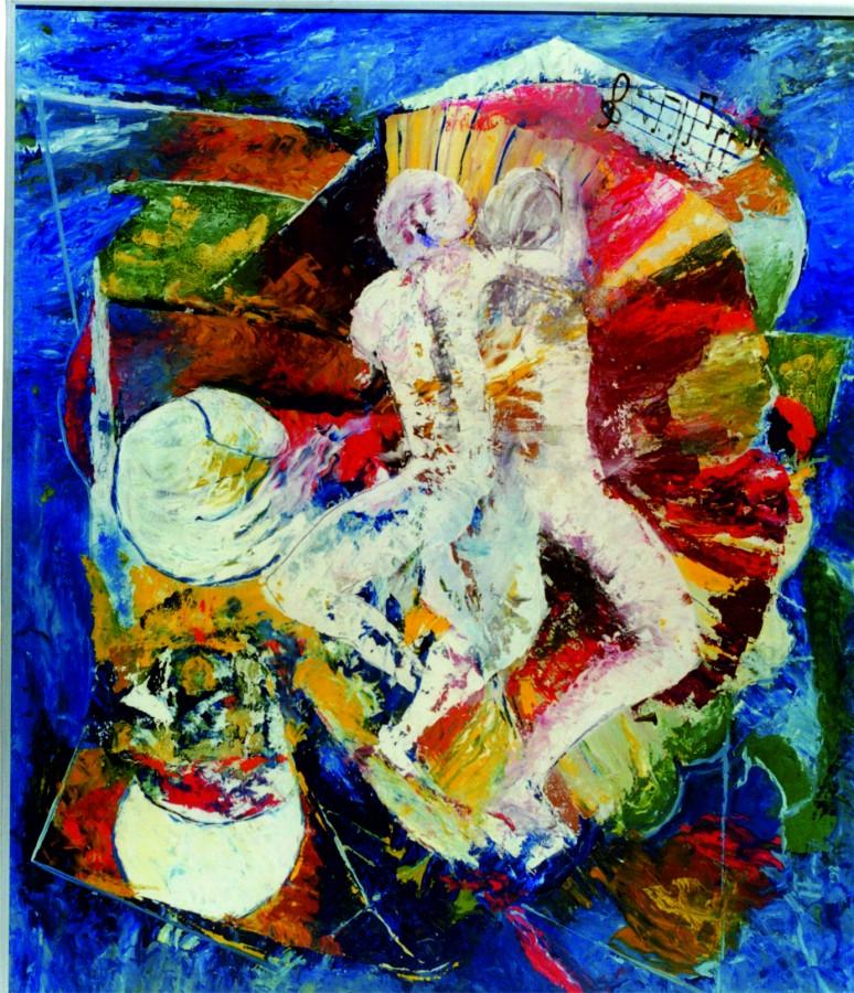 Ionescu-Florența-Joc-secund-70x80-cm-ulei-carton-2011