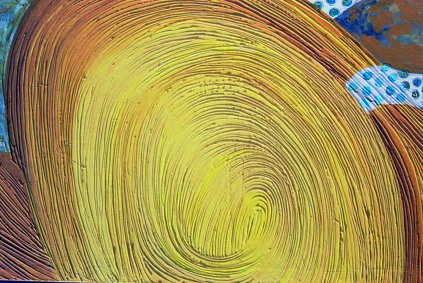 oare , 100x150cm,tehnica mixta pe panza, 2003