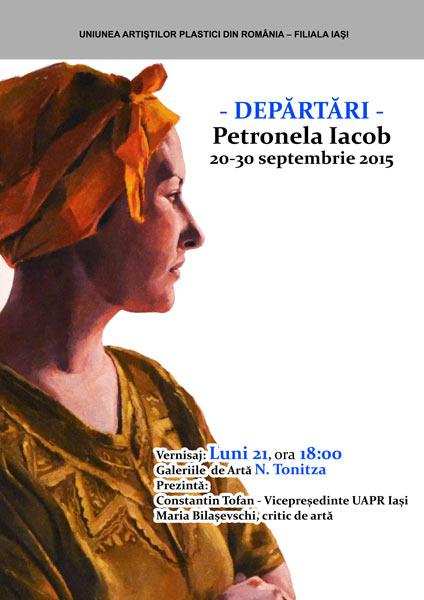 DEPARTARI - PETRONELA IACOB