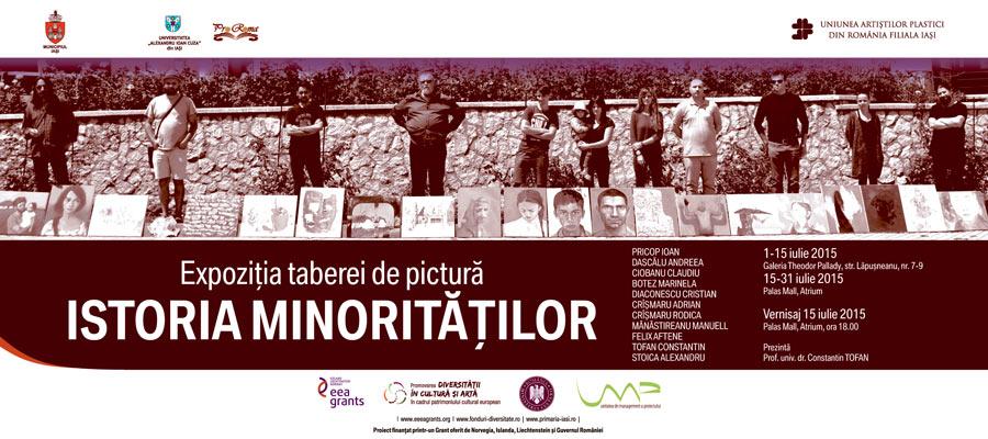 EXPOZITIA TABEREI DE PICTURĂ ISTORIA MINORITĂȚILOR