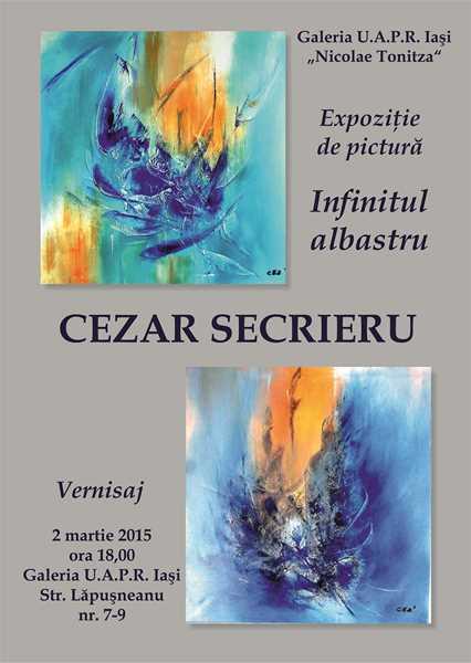 INFINITUL ALBASTRU – CEZAR SECRIERU