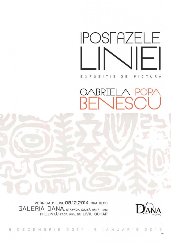 IPOSTAZELE LINIEI – GABRIELA POPA BENESCU