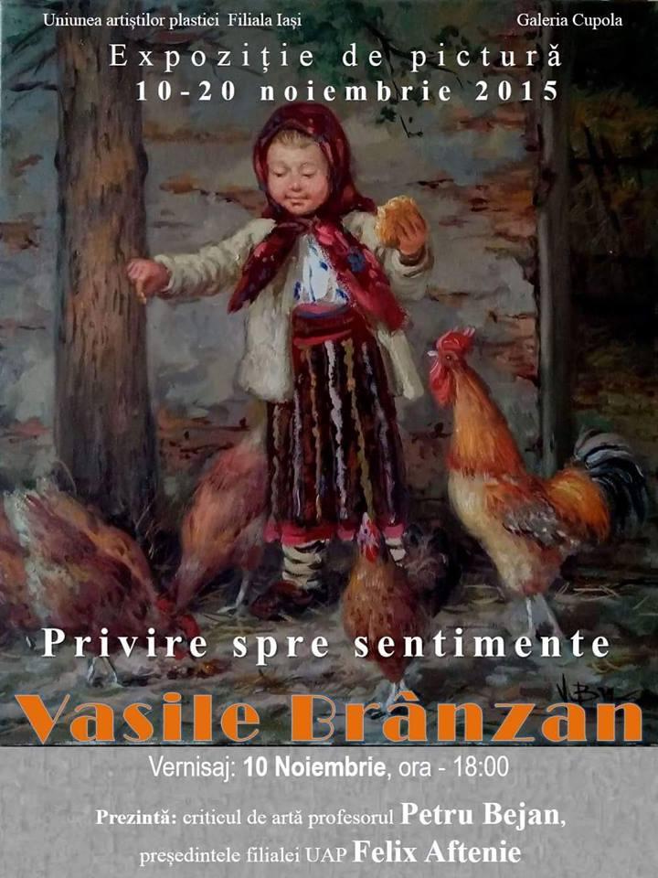 PRIVIRE SPRE SENTIMENTE – VASILE BRÂNZAN